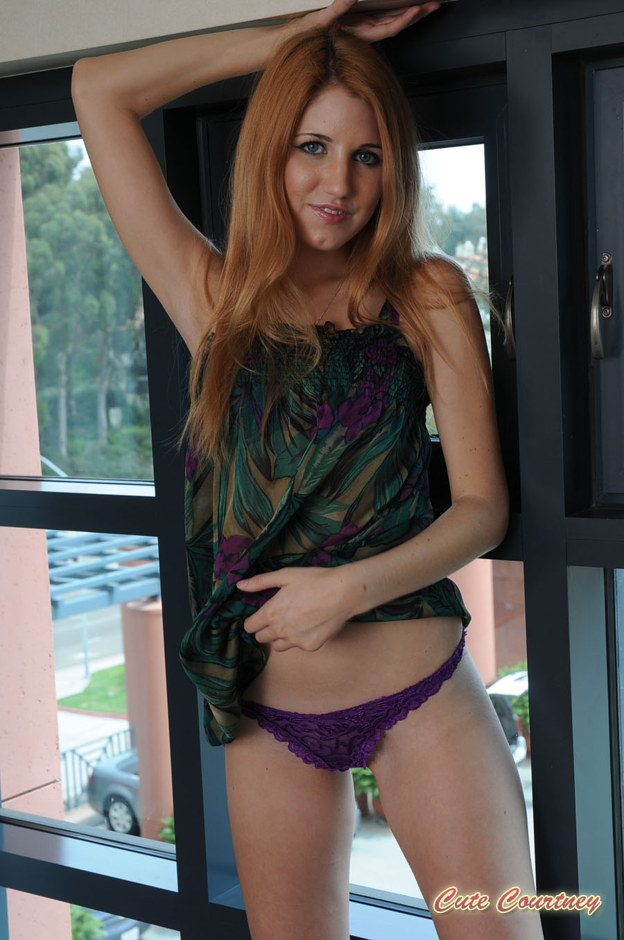 Cute Courtney - Sexy Redhead Teasing at AmateurIndex.com