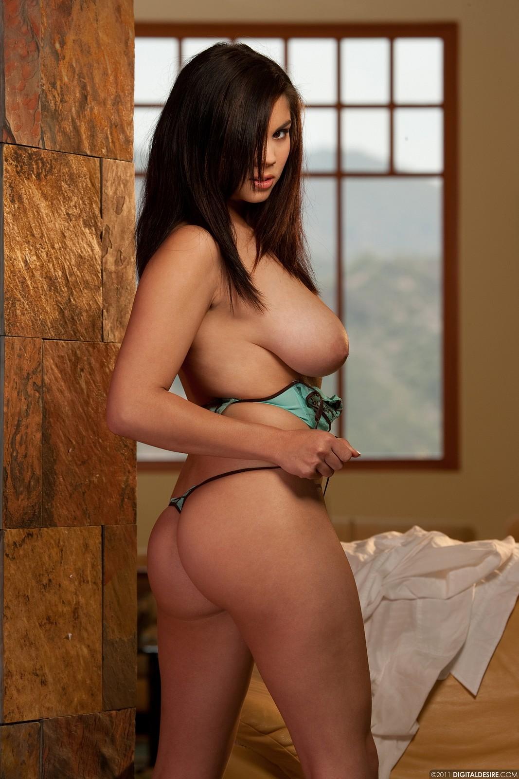 Busty asian stripper