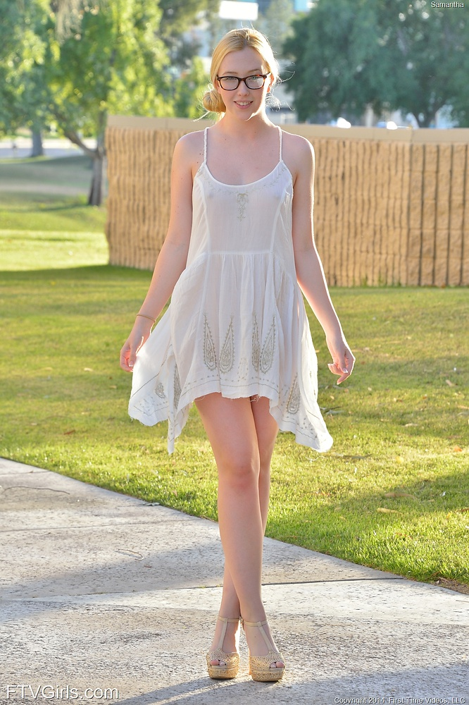samantha girls Sundress ftv