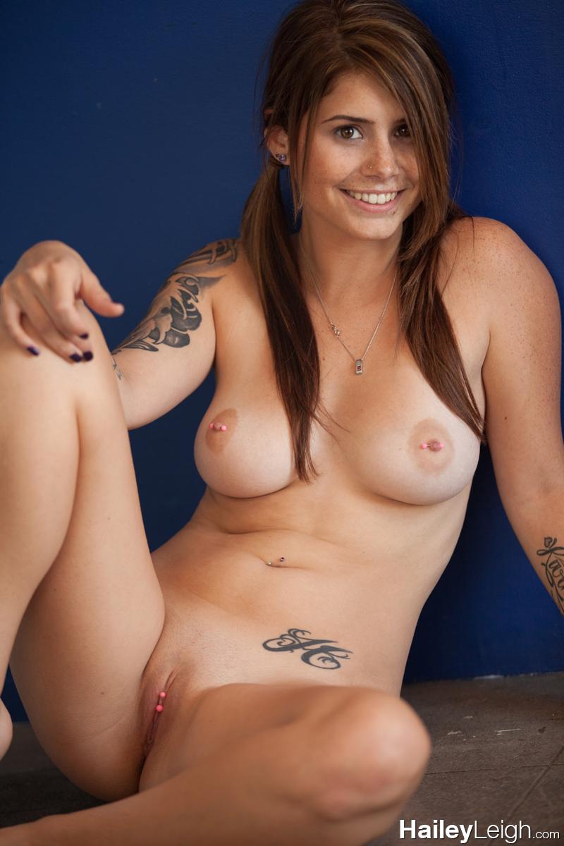 hailey leigh nude