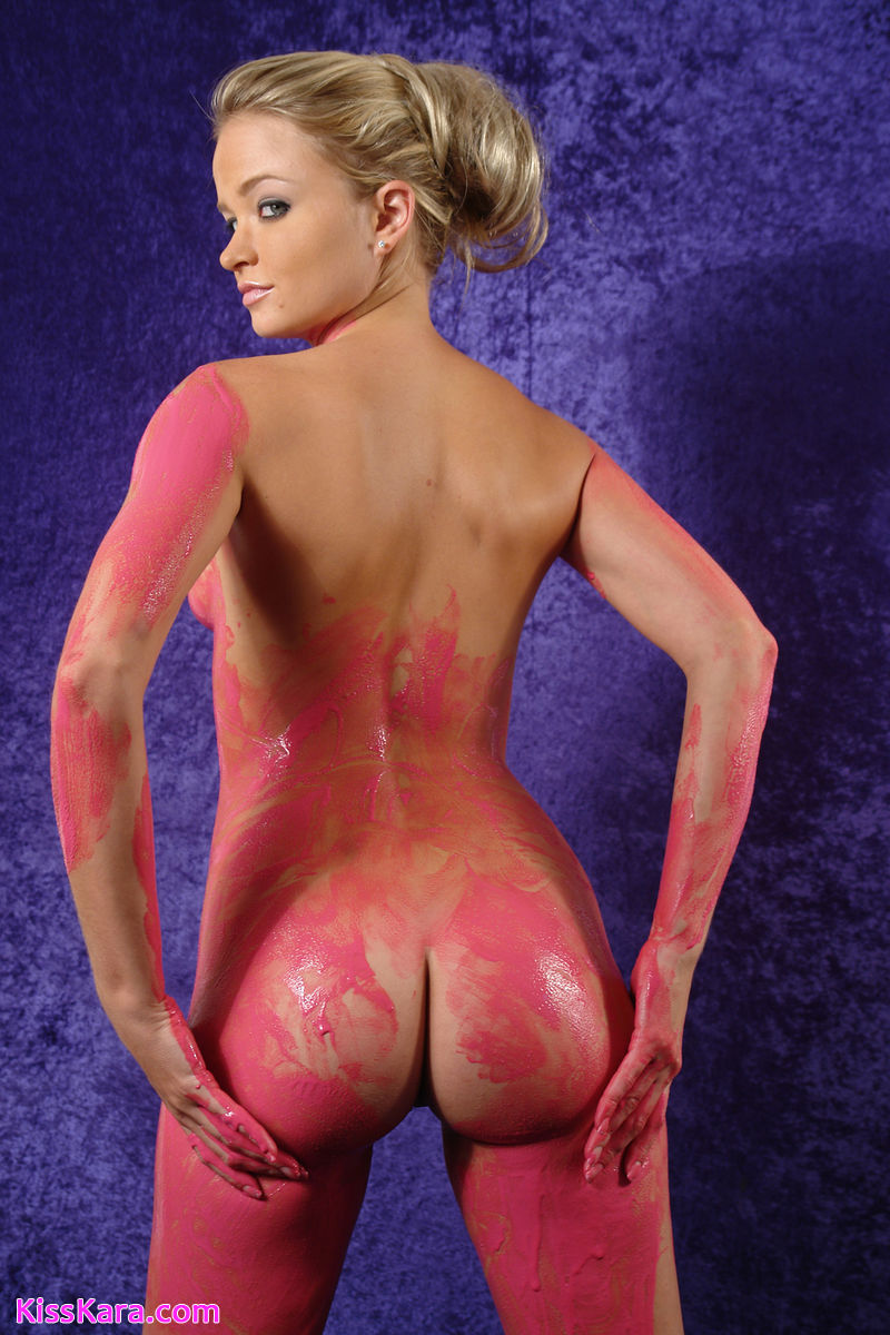 Kiss Kara : Kiss Kara Nude Body Paint
