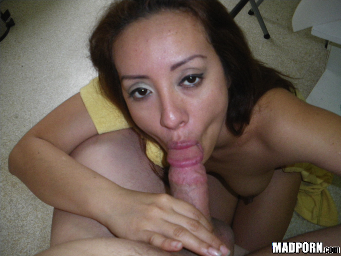 Homemade latina blowjob